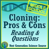 Asexual Reproduction Activity: Ethics of Cloning in Genetics MS-LS3-2 MS-LS4-5