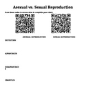 Asexual vs. Sexual Reproduction QR Code Activity