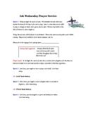 Ash Wednesday Prayer Service