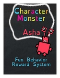 Asha: Character Monster Letter A - A Fun Behavior Reward System