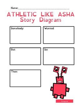 Asha: Character Monster Letter A - A Fun Behavior Reward System