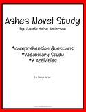 Ashes Novel Study