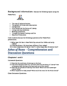 Ashes of Roses Unit Plan and Study Guide