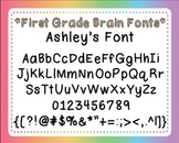 Ashley's Font for Personal and Commercial Use (Free!)