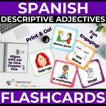Así Se Dice 1 Chapter 1 Vocab Picture Cards