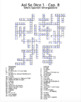 Así Se Dice 1 Chapter 8 Vocabulary Crossword