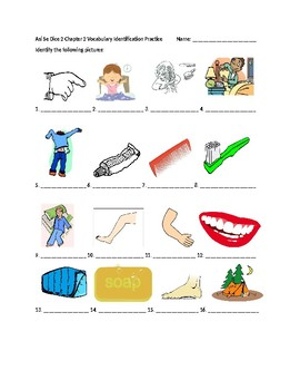 Así Se Dice 2 Chapter 2 Vocabulary Identification Practice