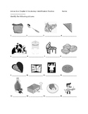 Así Se Dice 2 Chapter 4 Vocabulary Identification Practice/Quiz