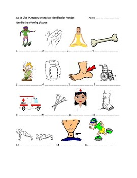 Así Se Dice 3 Chapter 2 Vocabulary Identification Practice