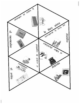 Asi Se Dice Chapter 10 Airport Vocabulary Puzzles