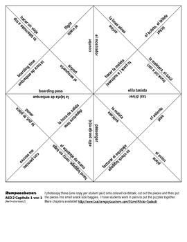ASD2 Cap1 Vocab1 Vocab Puzzle Rompecabeza Asi