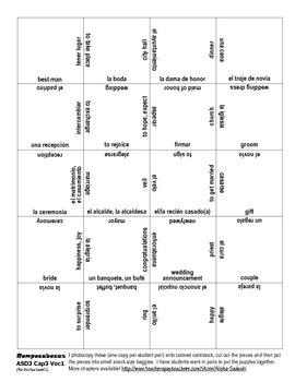 ASD3 Cap3 Vocab1 Puzzle Rompecabeza