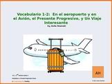 Asi se Dice Ch 1, less 4, 2nd year spanish:  vocab 2 & present progressive tense
