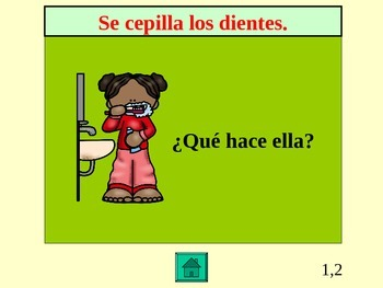 Asi se Dice Ch 2, 2nd year Review Jeopardy Game