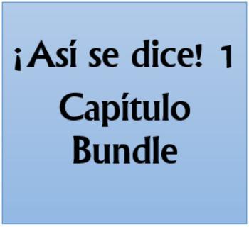 Así se dice 1 Capítulo 3 Bundle