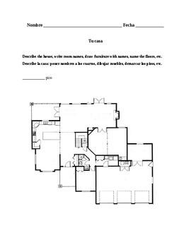 Así se dice 1, Chapter 2. Describing the home / Describiendo la casa.