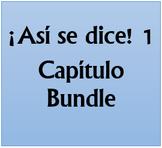 Así se dice 1 Lecciones preliminares Bundle