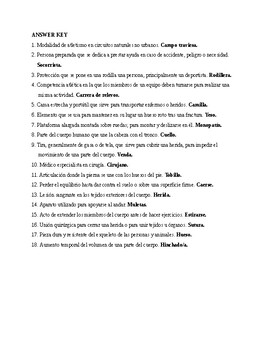 Así se dice 3. Chapter 2. Vocabulary, Exercise 1. Quiz - Activity
