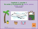 Asi se dice Ch 1, Lesson 1, 2nd yr Spanish:  avión & prese