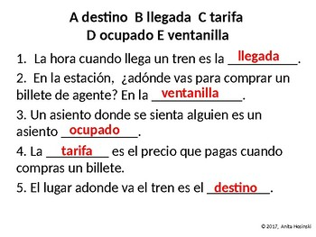 Asi se dice Chapter 3, lesson 4 2nd year Spanish