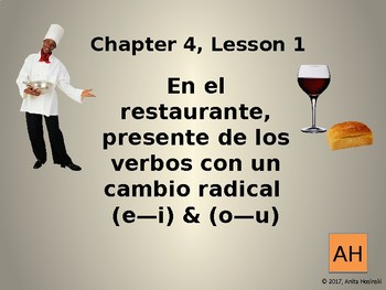 Asi se dice Chapter 4, lesson 1 2nd year
