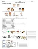Asi se dice! Level 1 Chapter 2 Vocabulary 1 & 2 quiz