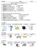 Asi se dice! Level 1 Chapter 3 Vocabulary 1 & 2 quiz