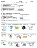 Asi se dice! Level 1 Chapter 3 Vocabulary 1 & 2 quiz