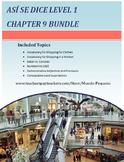 Asi se dice Level 1 Chapter 9 Resource Bundle