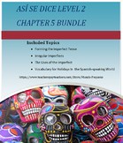 Asi se dice Level 2 Chapter 5 Resource Bundle