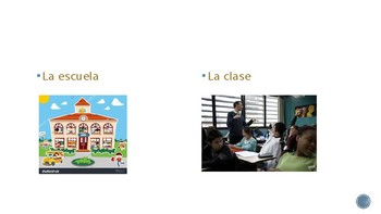 Así se dice1 -Realidades 1 School/Class Schedule Vocabulary