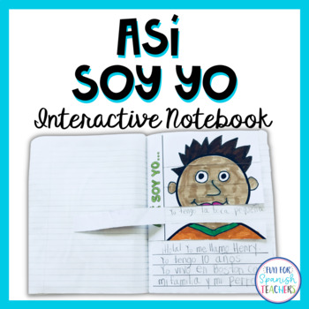 Así soy yo... {Interactive Notebook}