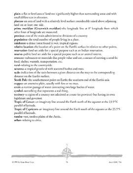 Asia: Celebrating Learning/Glossary