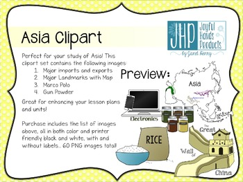 Asia Clipart