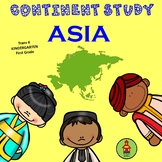 Asia Continent Study for Early Learners!