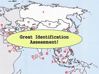 Asia - Country Identification Quiz