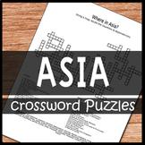 Asia Crossword Puzzles