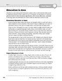 Asia: Culture: Education