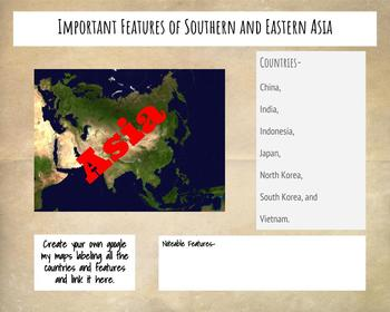 Asia Digital Interactive Notebook