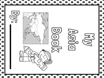 Asia Facts Lapbook