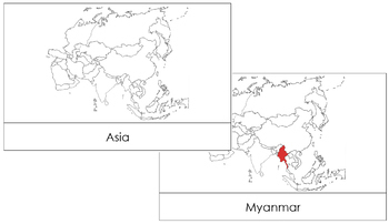 Asia Flashcards (Red)