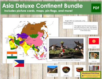 Asia Geography Deluxe Bundle