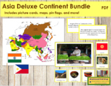 Asia Geography Deluxe Bundle - Color Borders