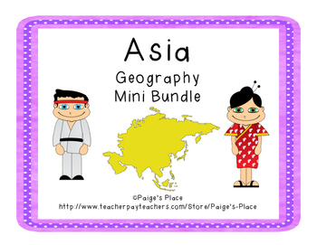 Asia Geography Mini Bundle