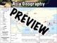 Asia Geography Worksheet