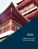 Asia Homeschool Unit Study