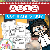 Asia Continent Booklet | 48 Pages for Differentiated Learn