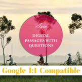 Asia: Fully Digital Passages with Questions and Answer Key