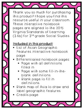 Asia Interactive Notebook