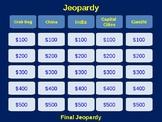 Asia Jeopardy